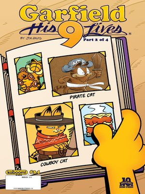 cover image of Garfield, Issue 34