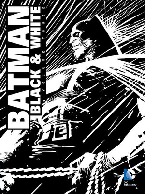 cover image of Batman: Black & White (1996), Volume 3