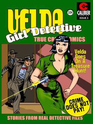 cover image of Velda: Girl Detective, Issue 3