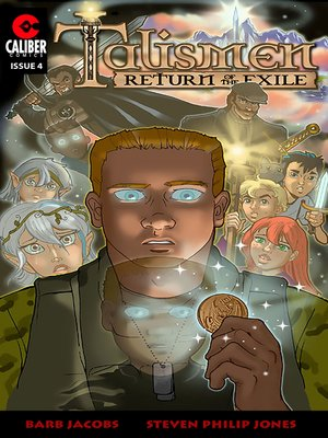 cover image of Talismen: Return of the Exile, Issue 4
