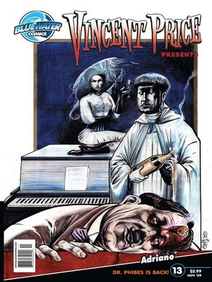 cover image of Vincent Price Presents, Issue 13