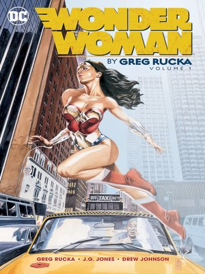 cover image of Wonder Woman by Greg Rucka, Volume 1
