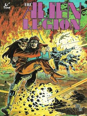 cover image of Alien Legion (1984), Issue 9