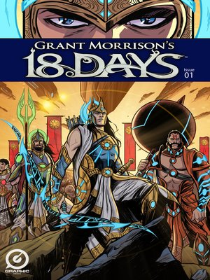 cover image of Grant Morrison's 18 Days, Issue 1