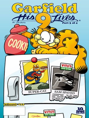 cover image of Garfield, Issue 35
