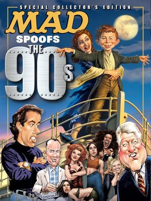 cover image of MAD Spoofs the 90's