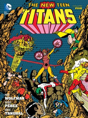 cover image of New Teen Titans, Volume 5