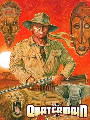 cover image of Quatermain, Collected Edition