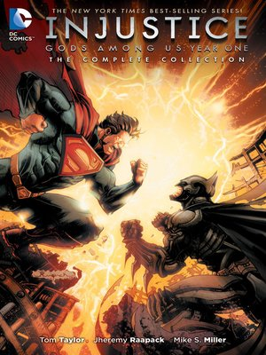 cover image of Injustice: Gods Among Us: Year One