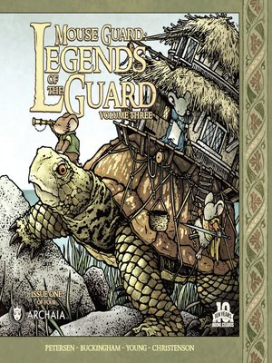 cover image of Mouse Guard Legends of the Guard, Volume 3, Issue 1