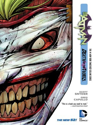 cover image of Batman (2011), Volume 3
