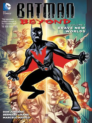 cover image of Batman Beyond (2015), Volume 1