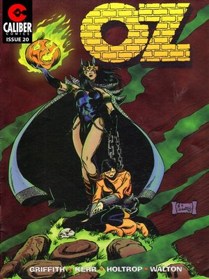 cover image of OZ, Issue 20