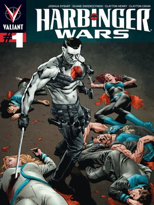 cover image of Harbinger Wars, Issue 1