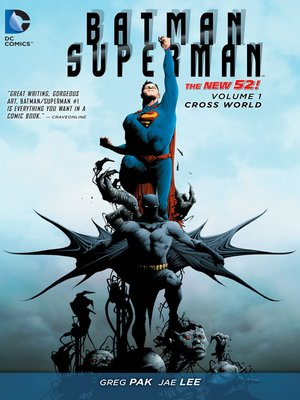 cover image of Batman/Superman (2013), Volume 1