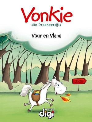 cover image of Vonkie die Draakperdjie