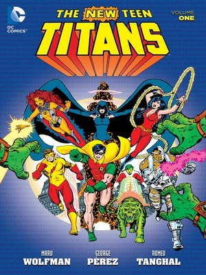 cover image of New Teen Titans, Volume 1