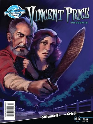 cover image of Vincent Price Presents, Issue 23