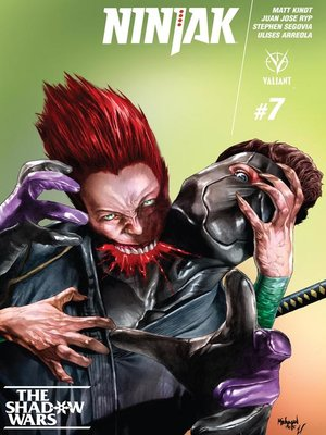 cover image of Ninjak (2015), Issue 7