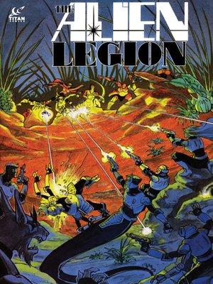 cover image of Alien Legion (1984), Issue 18