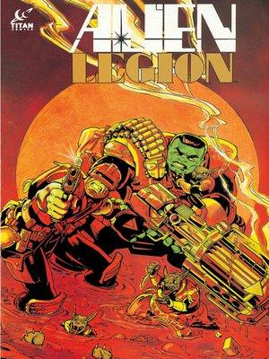 cover image of Alien Legion, Issue 36