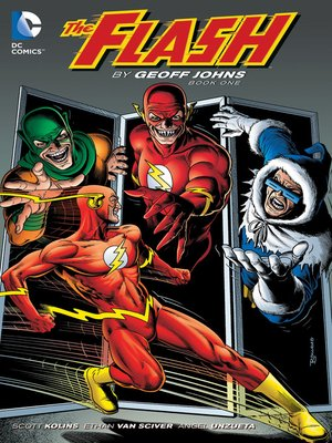 cover image of The Flash By Geoff Johns, Book 1
