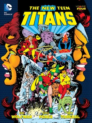 cover image of New Teen Titans, Volume 4