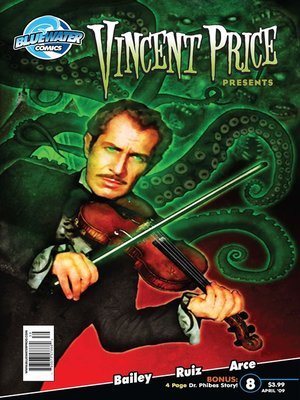 cover image of Vincent Price Presents, Issue 8