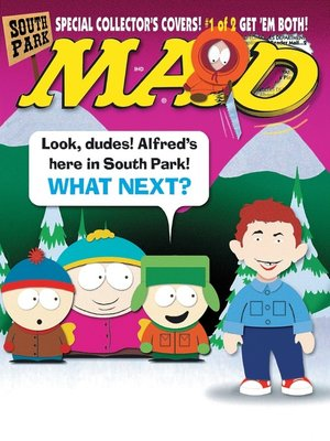 cover image of MAD Magazine #371