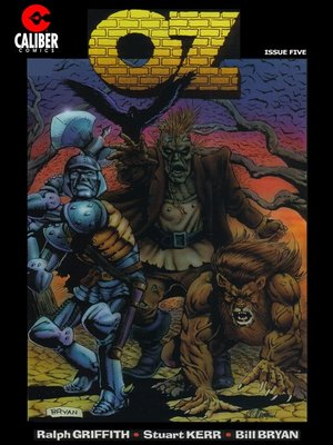 cover image of OZ, Issue 5