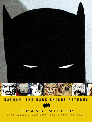 cover image of Batman: The Dark Knight Returns