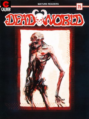 cover image of Deadworld, Issue 25