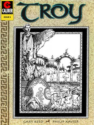 cover image of Troy: An Empire in Siege, Issue 3