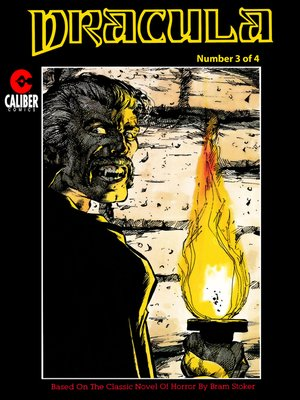 cover image of Dracula, Issue 3