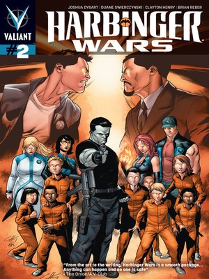 cover image of Harbinger Wars, Issue 2