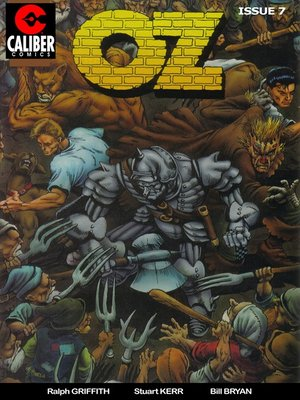 cover image of OZ, Issue 7