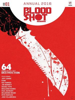 cover image of Bloodshot Reborn (2015), Annual Issue 1