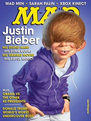 cover image of MAD Magazine #508