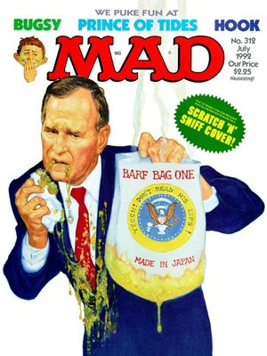 cover image of MAD Magazine #312