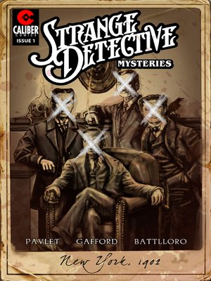 cover image of Strange Detective Mysteries, Issue 1