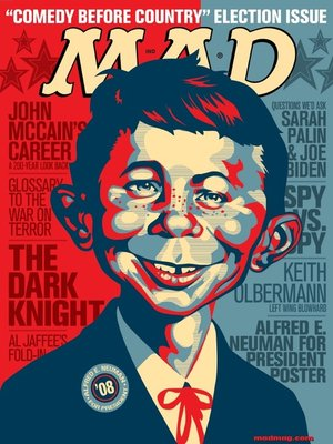cover image of MAD Magazine #495