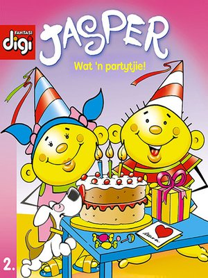 cover image of Jasper-reeks, Volume 2