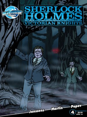 cover image of Sherlock Holmes: Victorian Knights, Issue 4