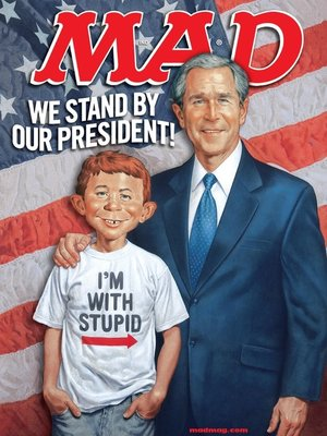 cover image of MAD Magazine #471