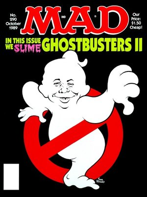 cover image of MAD Magazine #290