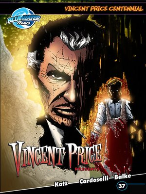 cover image of Vincent Price Presents, Issue 37