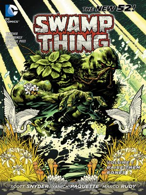 cover image of Swamp Thing (2011), Volume 1