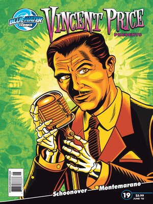 cover image of Vincent Price Presents, Issue 19