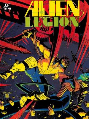 cover image of Alien Legion, Issue 35