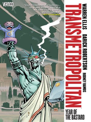 cover image of Transmetropolitan, Volume 3
